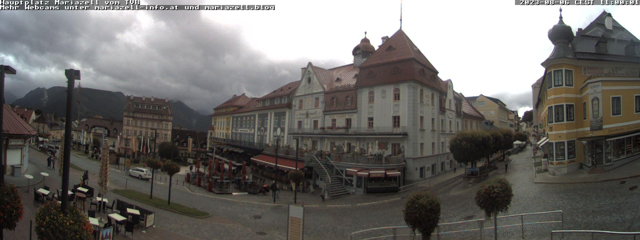 Mariazell Webcam - © Mariazellerland Blog & Apotheke zur Gnadenmutter