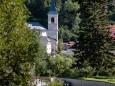 Blick hinüber zur Pfarrkirche | kalvarienberge-im-mariazellerland-1124