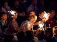 Stimmung im Publikum - THE REAL ABBA tribute bei der Bergwelle in Mariazell