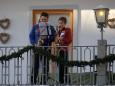 Advent in Mariazell 2011 - 1. Adventwochenende - Advent Blasen auf der Löwenterrasse