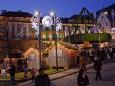 Adventkranz am Hauptplatz Mariazell