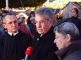 Superior P. Karl Schauer, Bundespräsident Heinz Fischer mit Ehefrau Margit