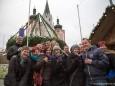 Gäste aus der Steiermark die unbedingt fotografiert werden wollten. Mariazeller Advent  2012 - Tag der Eröffnungsfeier