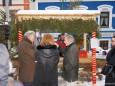Weißer Hirsch - Adventhütten beim Mariazeller Advent 2012