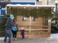 Ziege & Hase vorm Weißen Hirsch - Adventhütten beim Mariazeller Advent 2012