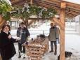 Hauptplatz - Erdäpfelspatzen beim Schrittwieser