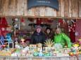 Holzspielzeug Adventhütte - Angebot  beim Mariazeller Advent 2011