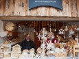 Holzkunsthandwerk Adventhütte - Angebot  beim Mariazeller Advent 2011