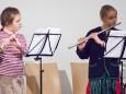 Jana Mandl, Klara Kaml - Adventkonzert Musikschule Mariazell 2011 im Volksheim Gußwerk