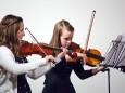 Anna-Sophie Schweiger, Anna Sampl - Adventkonzert Musikschule Mariazell 2011 im Volksheim Gußwerk