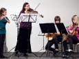 Katharina Brandl, Lisa Charvat, Magdalena Stebetak, Carina Kozmich - Adventkonzert Musikschule Mariazell 2011 im Volksheim Gußwerk