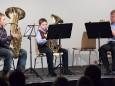 Felix Schneck, Christian Stehr, Manuel Harant - Adventkonzert Musikschule Mariazell 2011 im Volksheim Gußwerk
