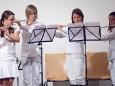 Nina Bernold, Viktoria Maderthoner, Sandra Haas, Stefanie Pierer - Adventkonzert Musikschule Mariazell 2011 im Volksheim Gußwerk