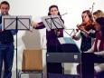 Peter Enne, Lisa Charvat, Anna-Sophie Schweiger, Anna Sampl, Ulrike Schweiger - Adventkonzert Musikschule Mariazell 2011 im Volksheim Gußwerk