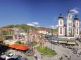 Mariazell-Hauptplatz-Maibaum