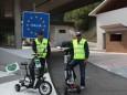 Nur mit Strom nach Rom - Grenze Italien