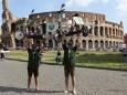 Nur mit Strom nach Rom - Colosseum