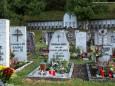 Friedhof in Gußwerk - Allerheiligen im Mariazellerland - 1. November 2014