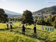Mariazeller Alphornquartett - Alphornklang am Erzherzog Johann Hügel in Mariazell - 4. August 2016