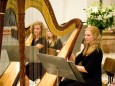 American Youth Harp Ensemble in der Basilika Mariazell
