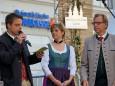 Aufsteirern in Graz 2011 - Organisatoren Markus und Alexandra Lientscher mit LR Christian Buchmann