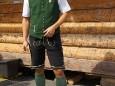 Aufsteirern in Graz 2011 - Markus von Gösser Brau mit einer Lederhose von mir - Treffe jedes Jahr Kunden...