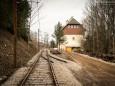 Musemstramwayschienen Nähe Bahnhof - Ehemalige Mariazellerbahn-Trasse von Gußwerk nach Mariazell
