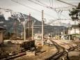 Mariazell Hauptbahnhof - Ehemalige Mariazellerbahn-Trasse von Gußwerk nach Mariazell
