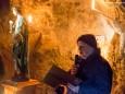 Pfarrer Dr. Michael Staberl - Barbara im Berg - Barbarafeier im Wetterinstollen - Advent 2014