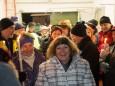 Vorm Abmarsch zur Kaverne - Barbara im Berg - Barbara Andacht im Wetterinstollen - Mariazeller Advent
