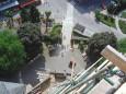 Ausblick vom Mittelturm der Basilika. Foto: Hans Pfeffer