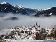 Basilika Mariazell im Nebel