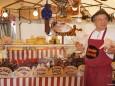 Schweine Baron beim Bauernmarkt in Gußwerk 2012