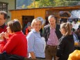 Gußwerks Vizebürgermeisterin Gabi Stebetak - Steirisch-Niederösterreichischer Bauernmarkt in Gußwerk am 4. Oktober 2014