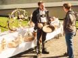 Kunstdrechslerei Herz - Bauernmarkt in Gußwerk am 3. Oktober 2015
