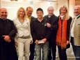 Pfarrer Brei, Simone, Ernst Fuchs (ORF), Michael Hirte, BGM Josef Kuss, Renate Kuss, BGM Manfred Seebacher
