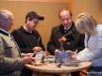 BGM Seebacher und BGM Kuss holen sich Autogramme bei Michael Hirte und Simone