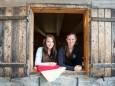 Deckenausgabe durch Conny & Janine - 100. Bergwelle mit Stefanie Werger & SOLOzuVIERT