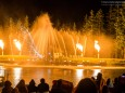 Wassershow - Lasershow - 100. Bergwelle mit Stefanie Werger & SOLOzuVIERT