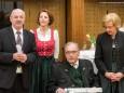 BGM. SEEBACHER - Bilderausstellung Matthias Pirker - Gerlinde Nitsche - Kunigunde Sommerauer im Raiffeisensaal Mariazell