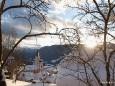 Basilika im Winter. Foto: Fritz Zimmerl
