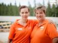 Julia & Nadja - Lerne deine Heimat kennen - Mitarbeitertag am 29.6.2016 auf der Mariazeller Bürgeralpe