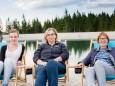 Mitarbeiterinnen Margits Schuhe - Lerne deine Heimat kennen - Mitarbeitertag am 29.6.2016 auf der Mariazeller Bürgeralpe