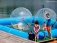 """Walking on the Waterballs - Mariazeller Bürgeralpe Sommer Opening - Eröffnung der neuen Attraktion """"Biberwasser"""" und ein International Wakeboard Contest."""