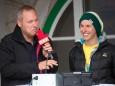 Michi Kemeter im Interview bei Radio 4/4 - Dirndlspringen & Slackline Event auf der Mariazeller Bürgeralpe 2012