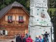 Kletterberg der Naturfreunde - Dirndlspringen & Slackline Event auf der Mariazeller Bürgeralpe 2012