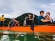 1. Drachenbootrennen am Erlaufsee - Mariazellerland. Foto: Rudi Dellinger