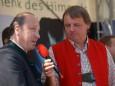Mariazells Bürgermeister Josef Kuss und Sepp Loibner - Radio Steiermark Frühschoppen mit den Edlseern zum 20 Jahr Jubiläum
