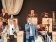Begrüßung durch Johann Kleinhofer - Feiner Blasmusikabend mit Ernst Hutter & den Egerländern.