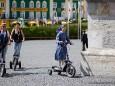 Elektrowallfahrt mit Segway, Bikeboard, Easyglider und E-Bikes zur Mariazeller Basilika